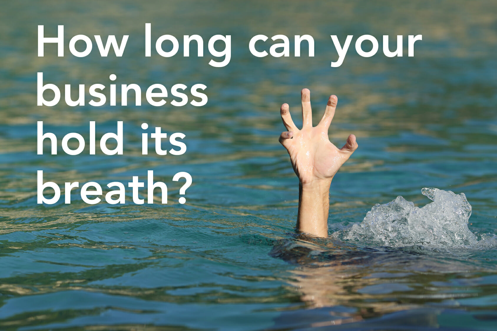 drowninghand Business continuity planning: A must have, not a luxury